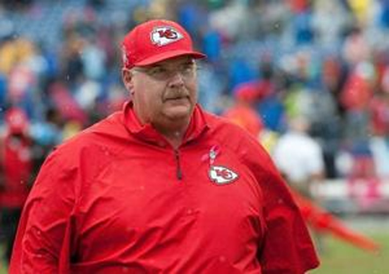 Chiefs' Andy Reid stays up late watching Raiders 47154
