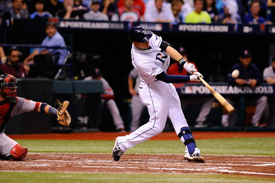 Red Sox vs. Rays score update, ALDS Game 3: Tampa Bay ties game, 3-3, on Evan Longoria's home run 47167