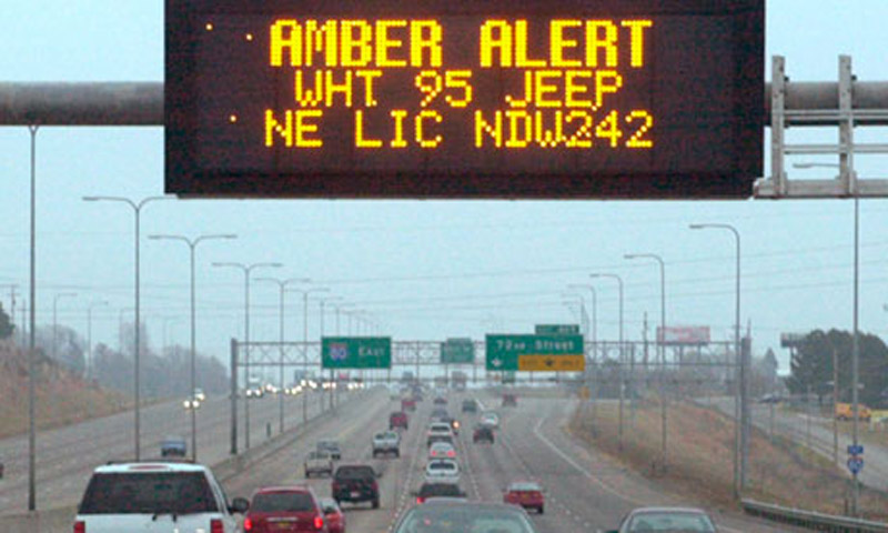 Amber Alert site restored after online furor over government shutdown 47170