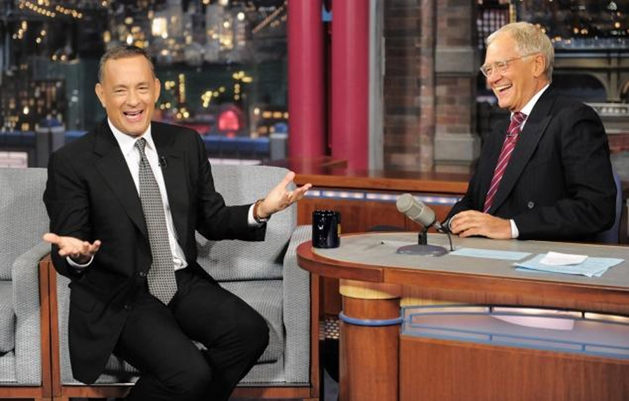 Tom Hanks reveals diabetes diagnosis to David Letterman on 'Late Show' 47193
