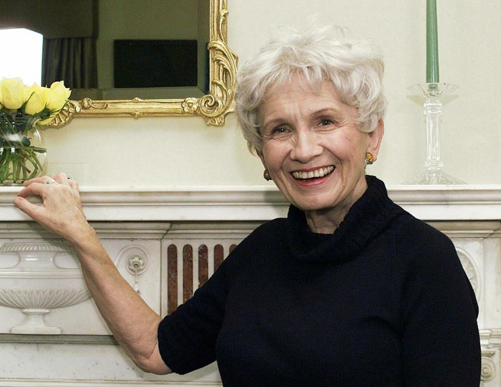 Canada's Alice Munro, 82, wins the Nobel Prize in Literature 47242