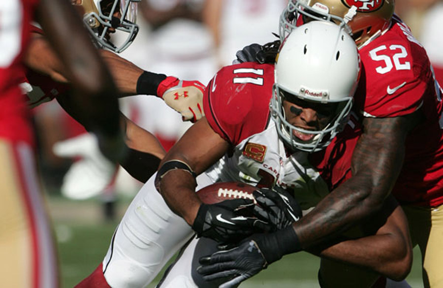 A Mix Of Larry Fitzgerald Against 49ers 47279