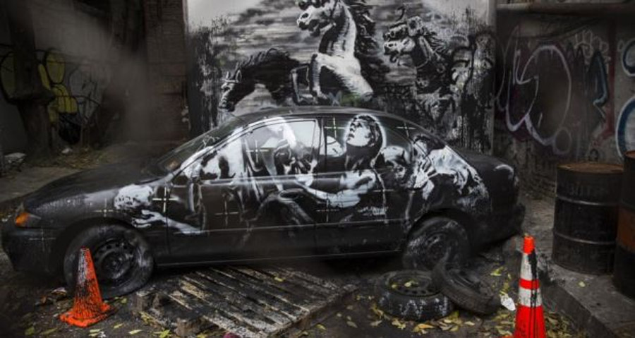 Banksy art sold for $60 on New York street 47303