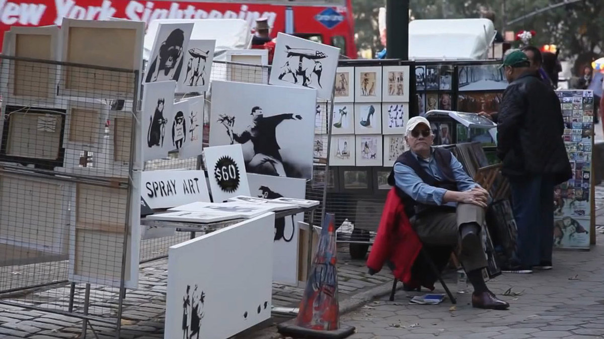Collectible Art At Street Prices: Banksy Sells Pieces For $60 47304