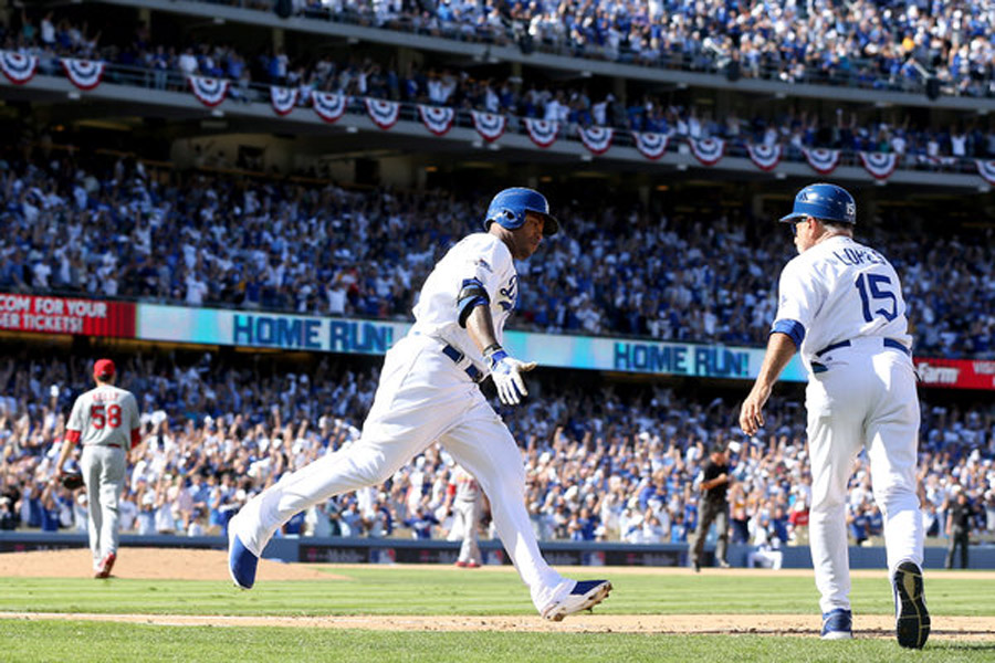 Dodgers Get Out of Jam and Back Into Series 47341