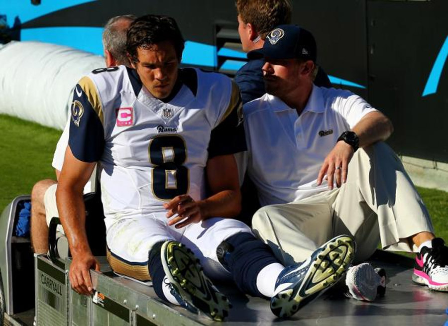 Rams QB Sam Bradford tears ACL, signing Tim Tebow 'discussed' 47443