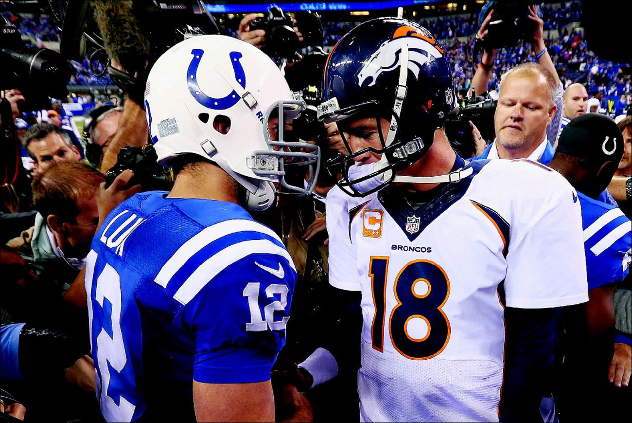 Luck trumps Manning in return as Bronco 47479