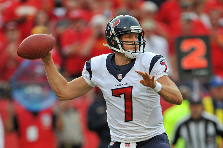 Case Keenum keeping Texans competitive vs. Chiefs 47511