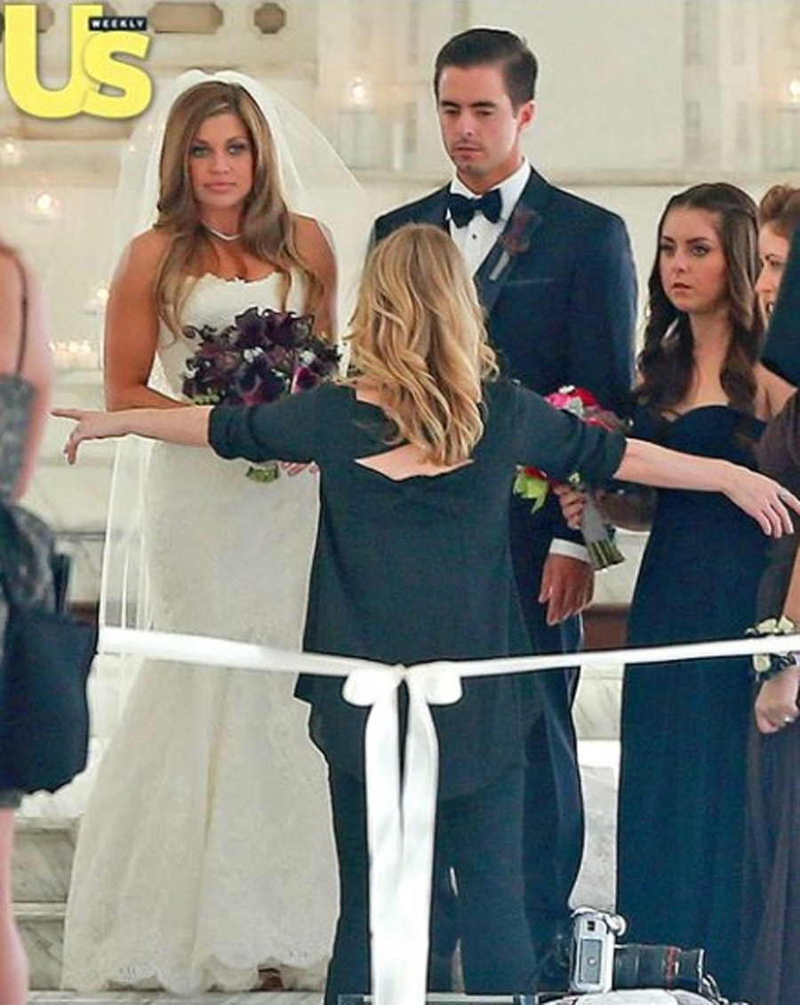 Danielle Fishel's Wedding Photos: The Dress, The Bouquet, The 'Boy Meets World' Guest 47566