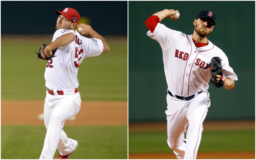 World Series Cardinals-Red Sox Game 2 preview: Wacha vs. Lackey 47579