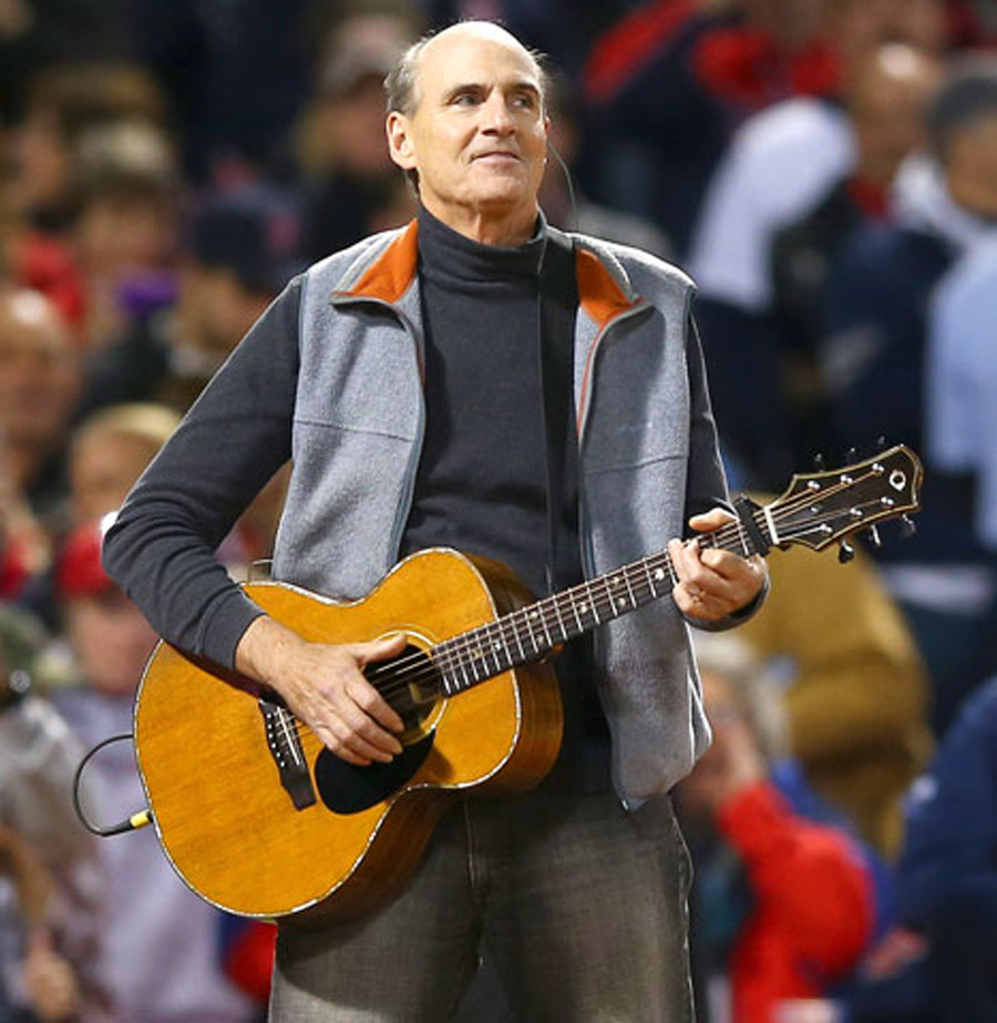 James Taylor Flubs National Anthem: Watch His Smooth Recovery at World Series! 47598
