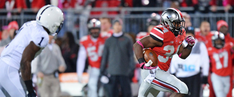 No. 4 Buckeyes Rout Penn State 63-14 To Stretch Winning Streak To 20 Games 47616