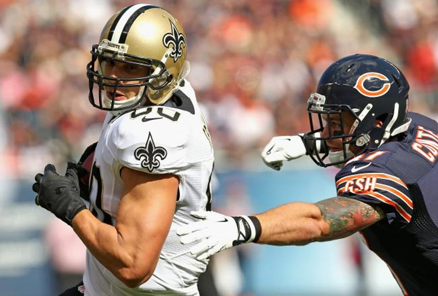 Predicting Jimmy Graham's Fantasy Stats in Week 8 vs. Bills 47625