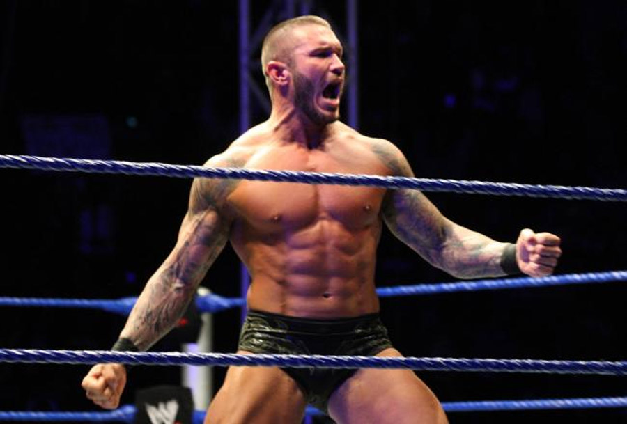 Randy Orton Wins WWE Title vs. Daniel Bryan 47666