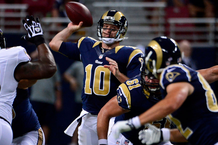 Kellen Clemens to start for Rams on MNF against Seahawks 47675