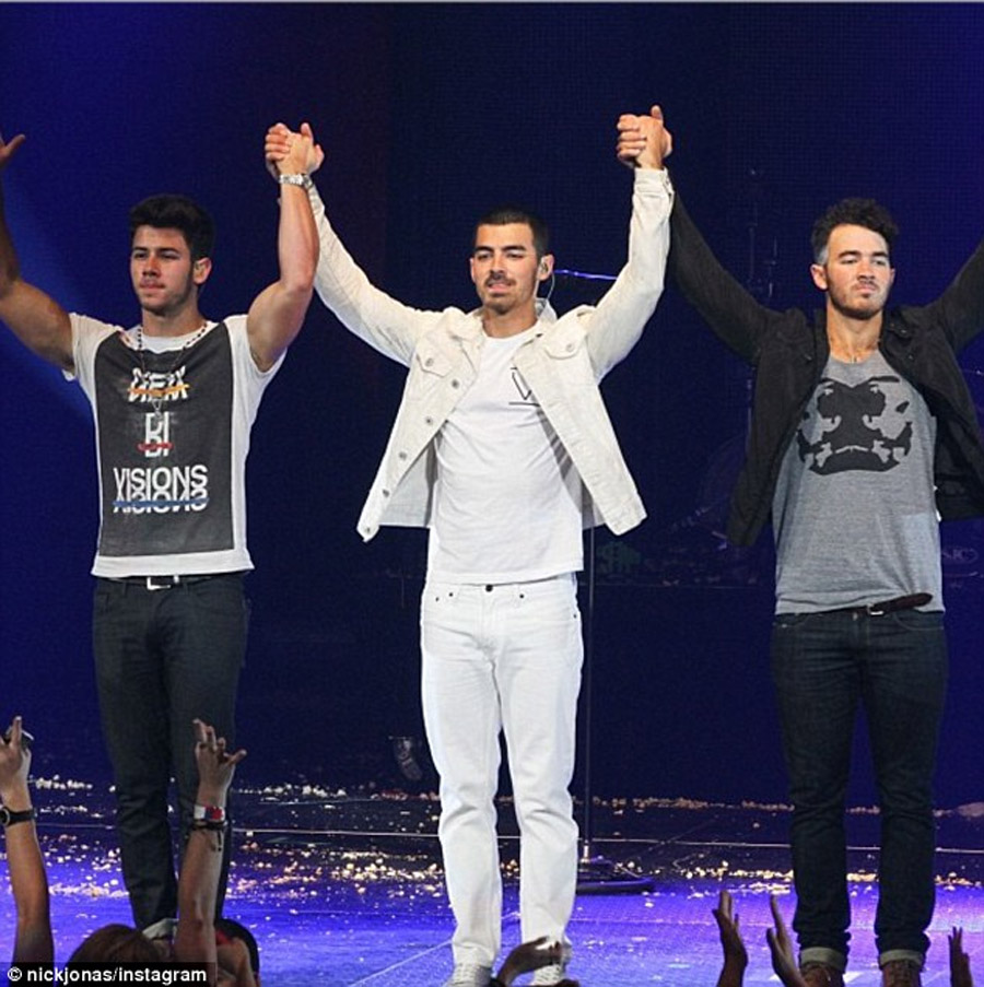 It's over for now': The Jonas Brothers call it quits after eight years 47695