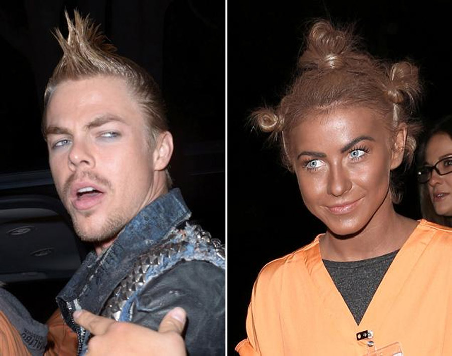 Derek Hough addresses Julianne Hough's blackface Halloween costume: 'It wasn't her brightest moment' 47713