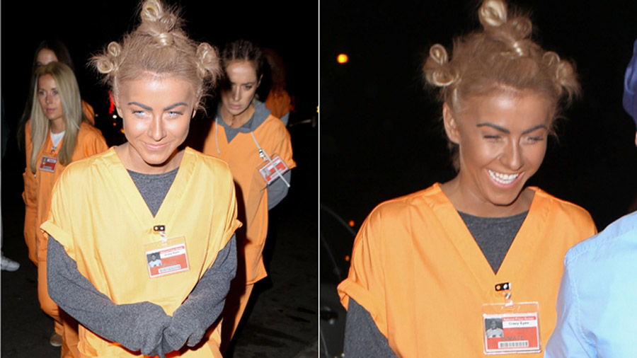 Julianne Hough slammed for donning 'black face' Halloween costume 47714