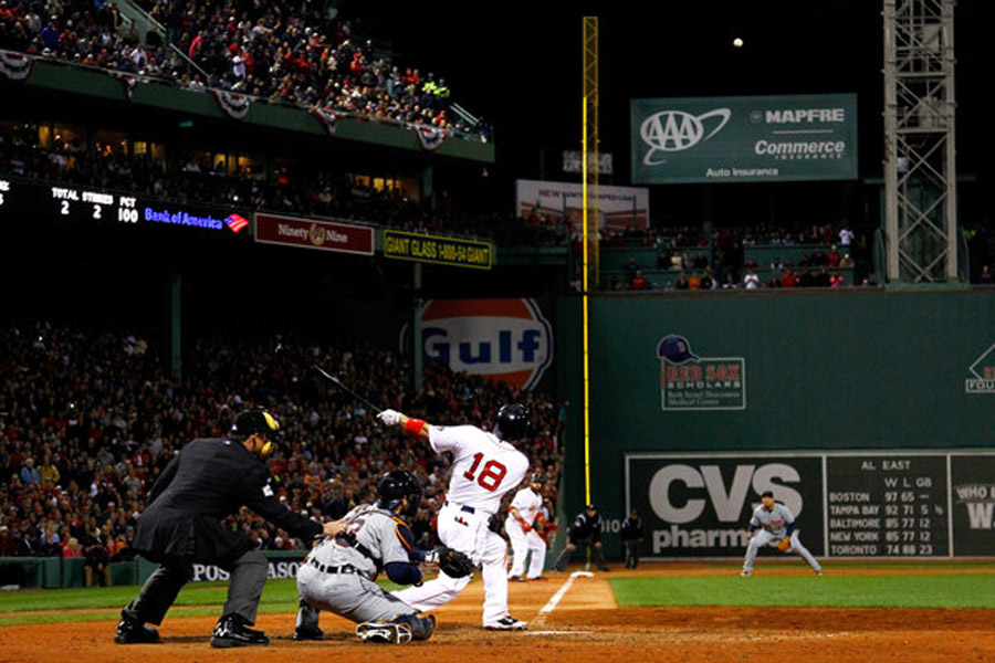 Victorino's Slam Sends Red Sox to World Series 47756