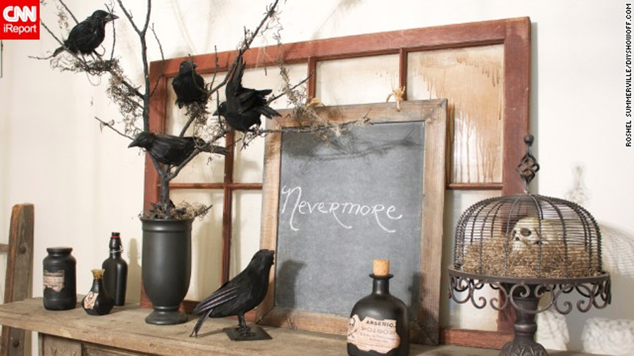 Open house: Elegantly eerie Halloween decor 47761