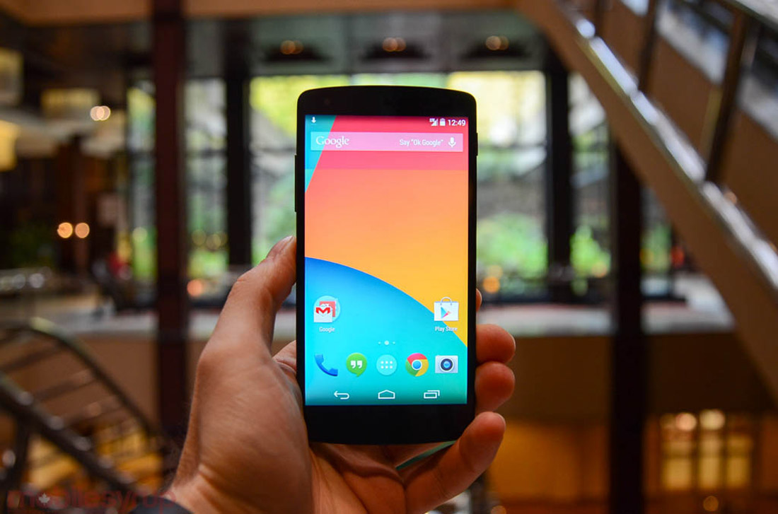 Hands-on with the Nexus 5 47764