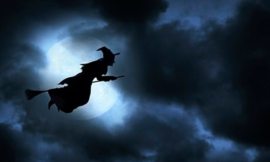 halloween witch is a travel sickness drug behind flying broomstick myth 47777