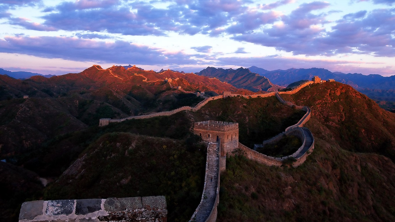 Majestic Great Wall Wallpaper Desktop 47806