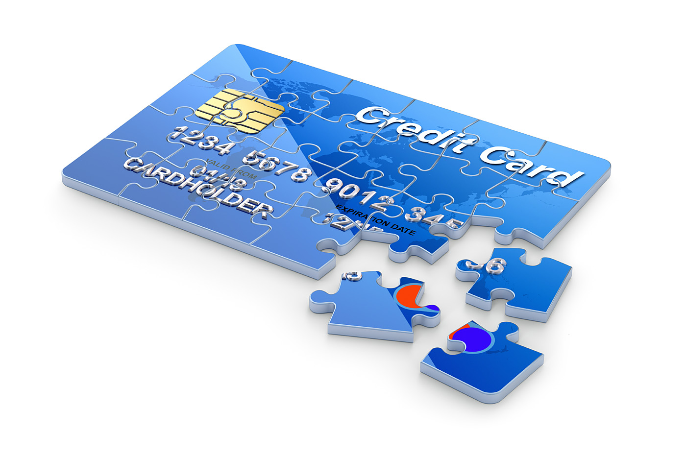 credit card puzzle 47812 - other - others