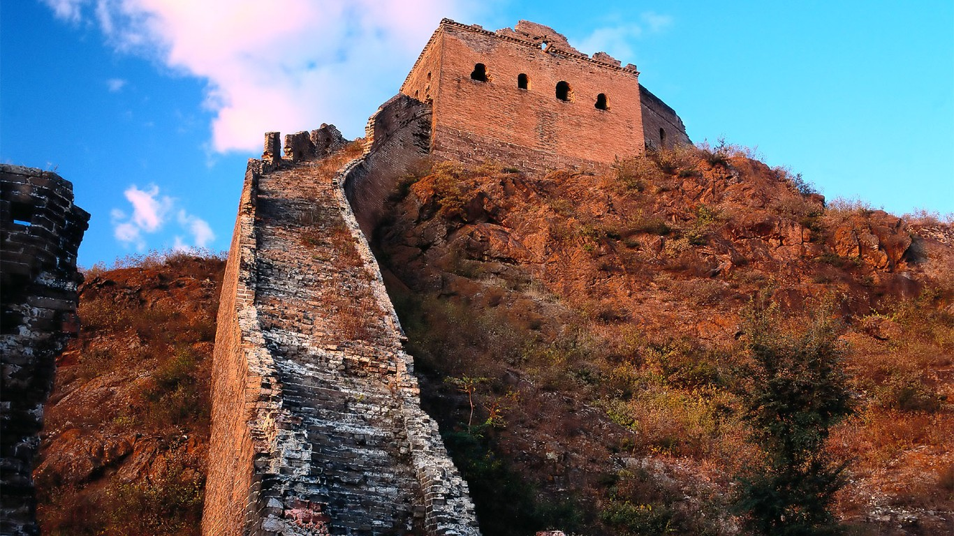 Majestic Great Wall Wallpaper Desktop 47819