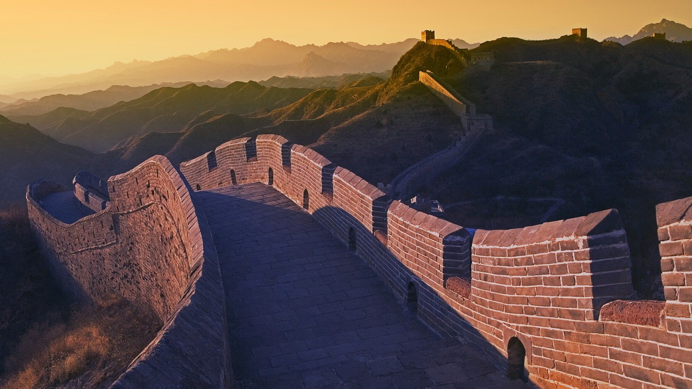 Majestic Great Wall Wallpaper Desktop 47827