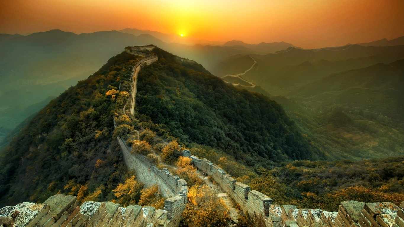 Majestic Great Wall Wallpaper Desktop 47831