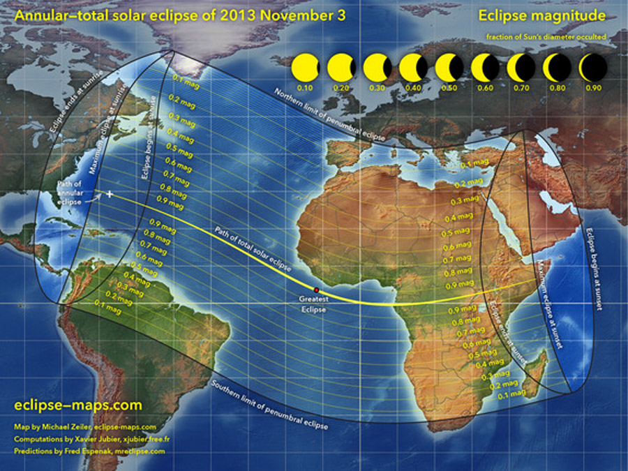 Rare Hybrid Solar Eclipse Occurs Today: Watch It Live Online 47865