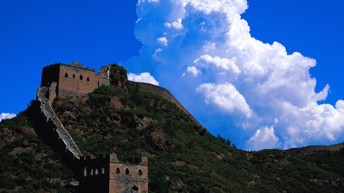 Majestic Great Wall Wallpaper Desktop 47875