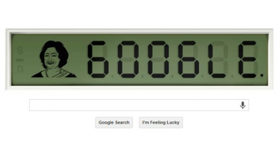 Google Doodles The Human Calculator, Shakuntala Devi 47879