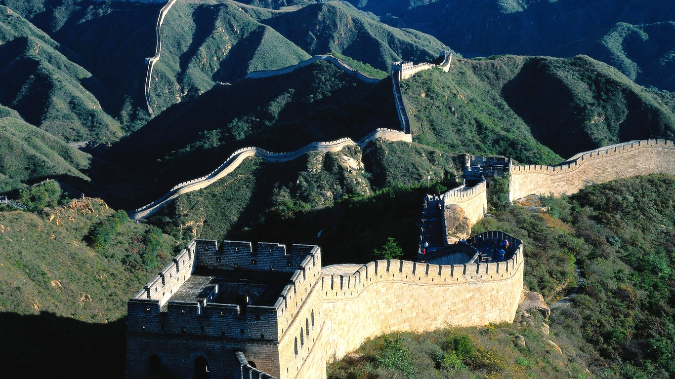 Majestic Great Wall Wallpaper Desktop 47985