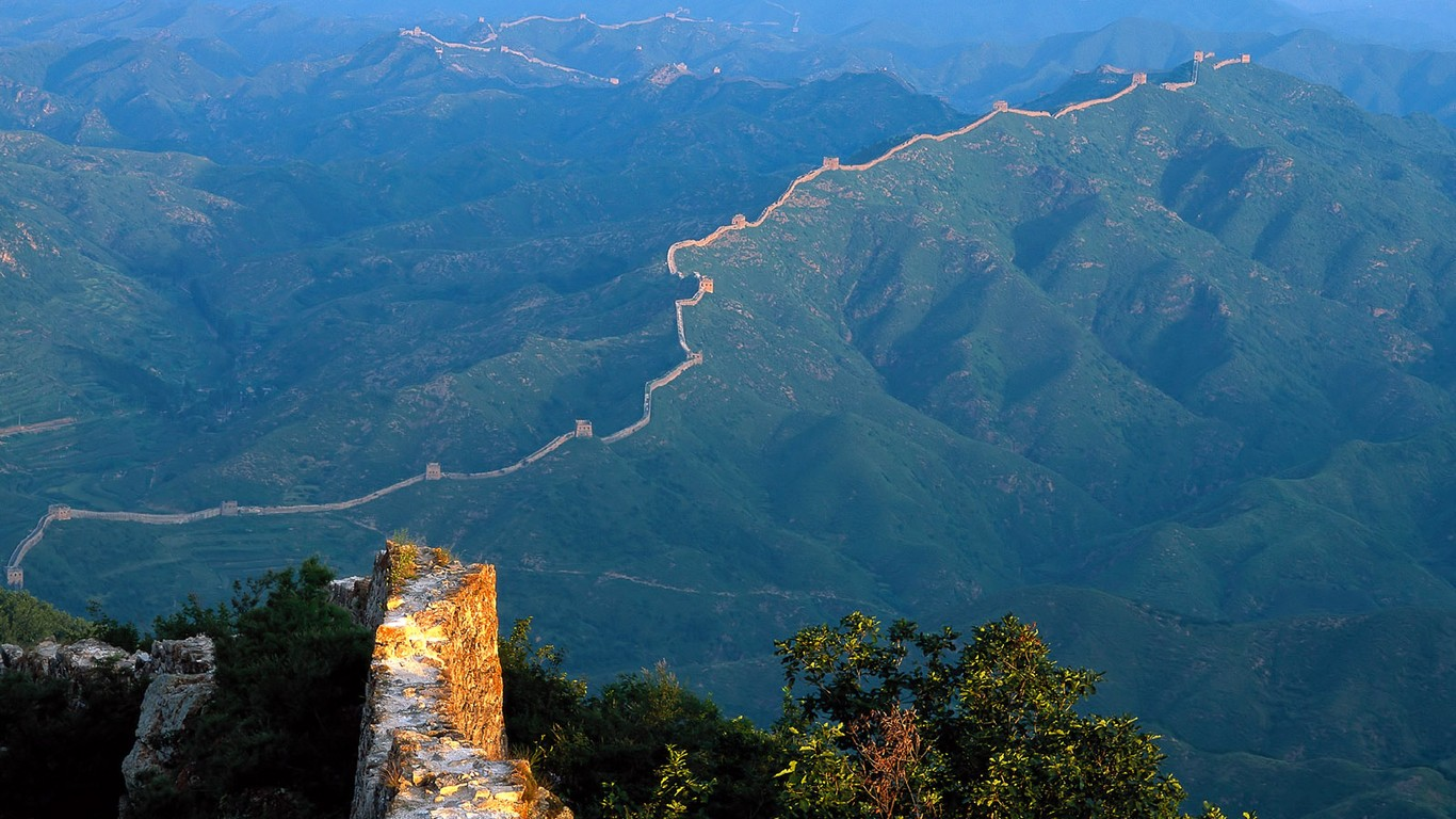 Majestic Great Wall Wallpaper Desktop 47987