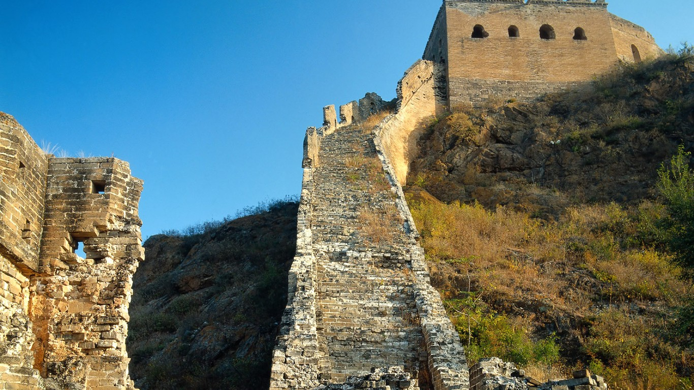 Majestic Great Wall Wallpaper Desktop 47988