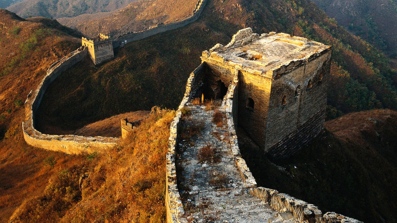 Majestic Great Wall Wallpaper Desktop 47989