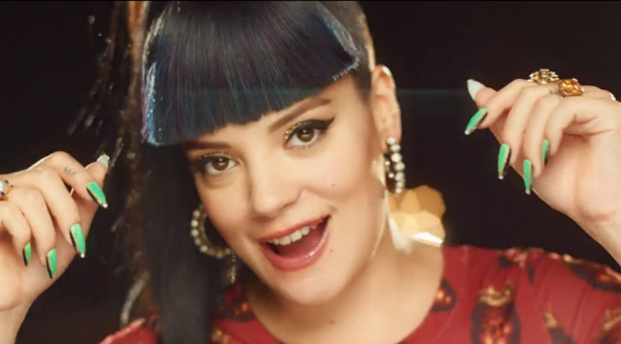 Lily Allen Returns to Mock Miley Cyrus, Robin Thicke, Et Al. 48015