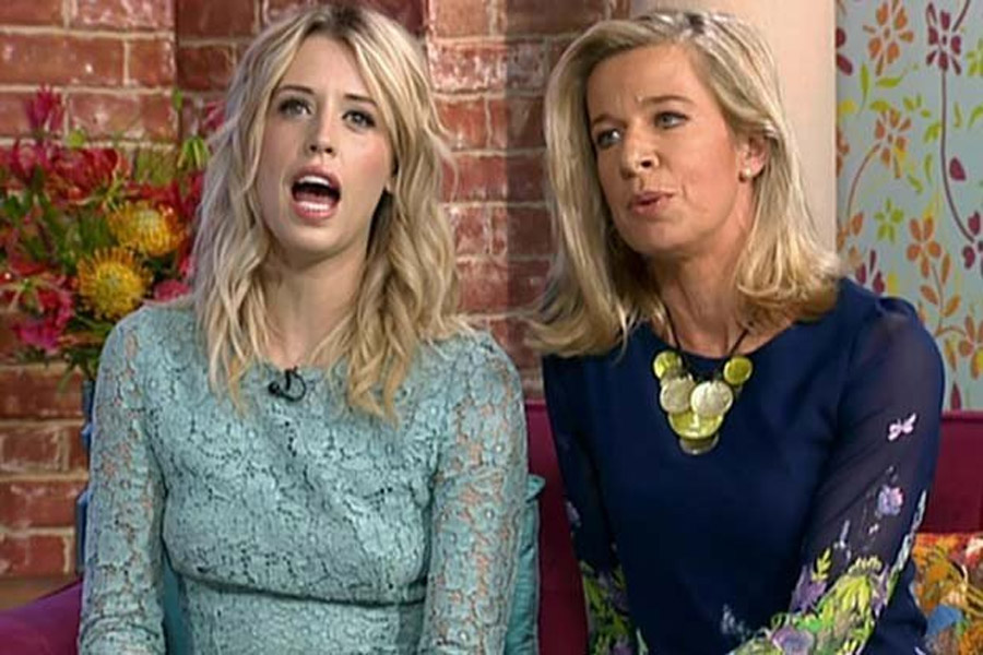 Cat fight! Peaches Geldof trumps Katie Hopkins in TV war blasting her 'rent-a-gob 48024