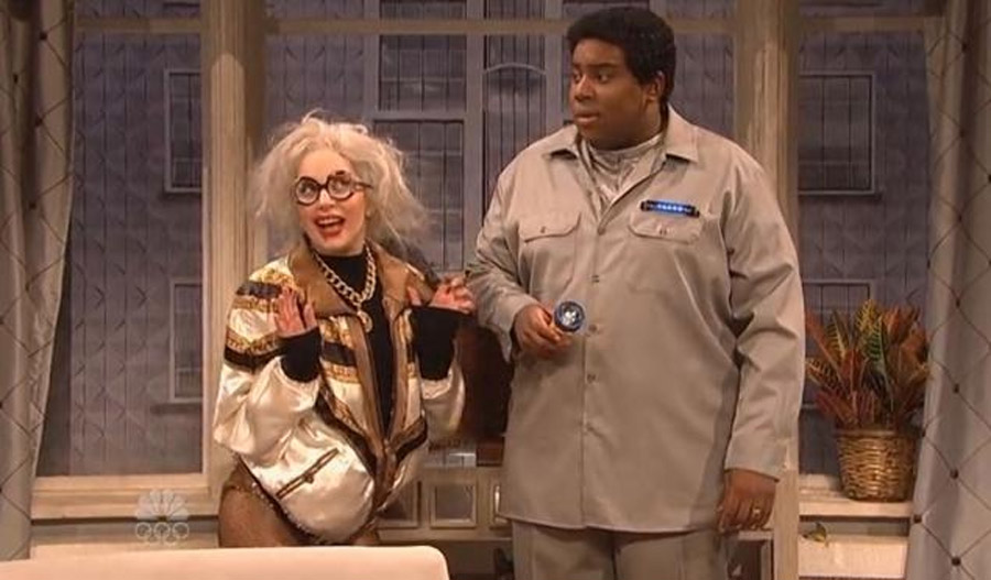 Lady Gaga hosts 'Saturday Night Live,' plays future self without fame or applause 48046
