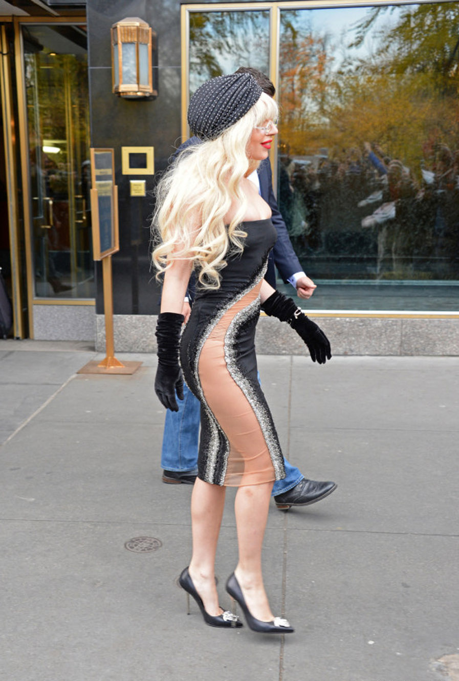 Lady Gaga Isn't Wearing Much For Day Out In New York City 48049