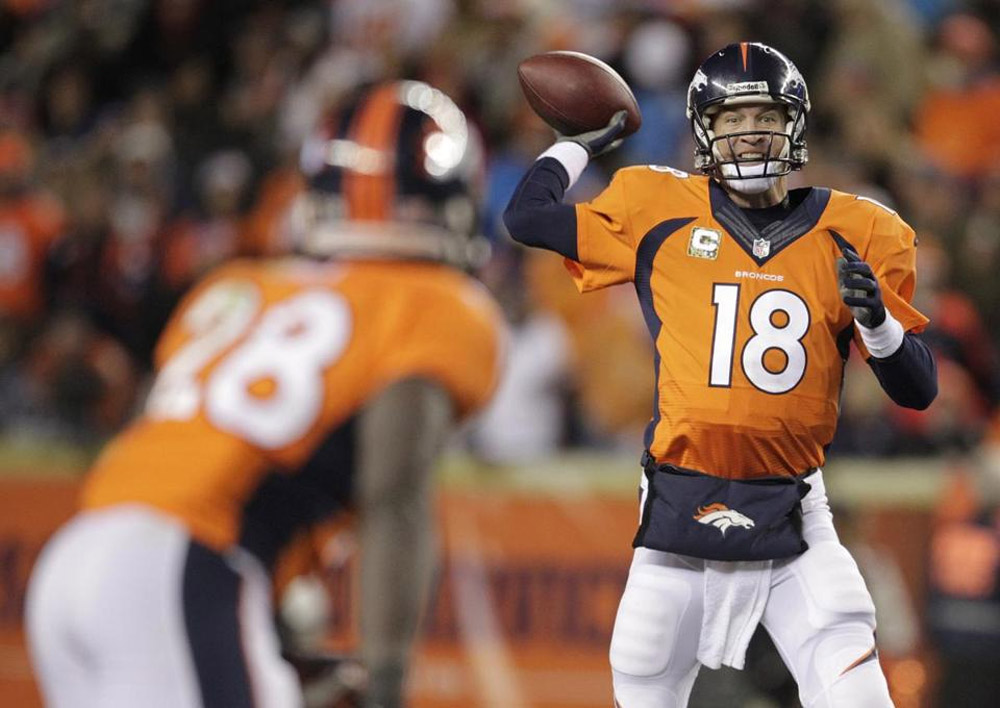 Manning, Broncos break Chiefs' undefeated streak 48055