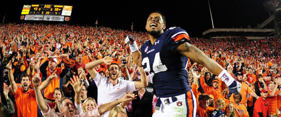 College Football Week 12 Recap: Auburn's Miracle Catch, USC Resurgence Among 10 Takeaways 48101