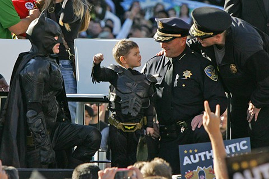SF police chief reflects on wild success of 'Batkid' 48113