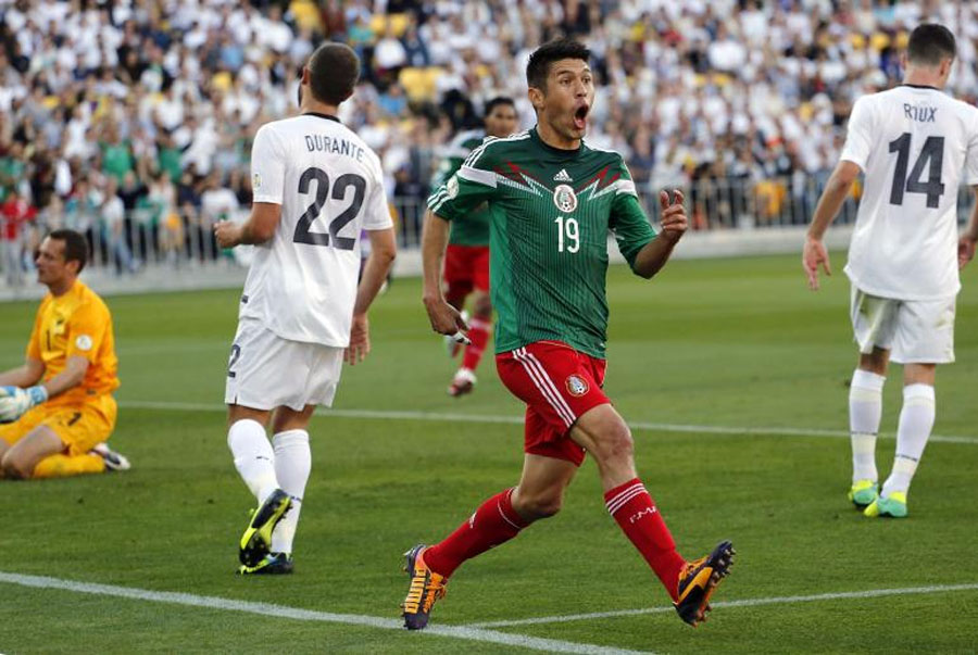Mexico 4-2 New Zealand: Highlights; Peralta Hat-Trick Sends El Tri Cruising Into The World Cup After Second-Leg Win 48203
