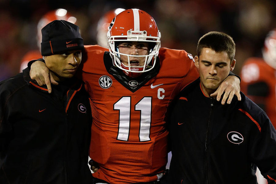 Aaron Murray Injury: Mark Richt Says QB Likely to Miss Georgia Tech Game 48306