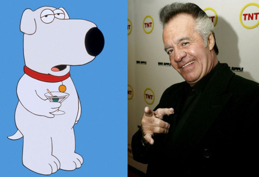 Family Guy kills off major character, replaces him with Sopranos' Paulie Walnuts 48314