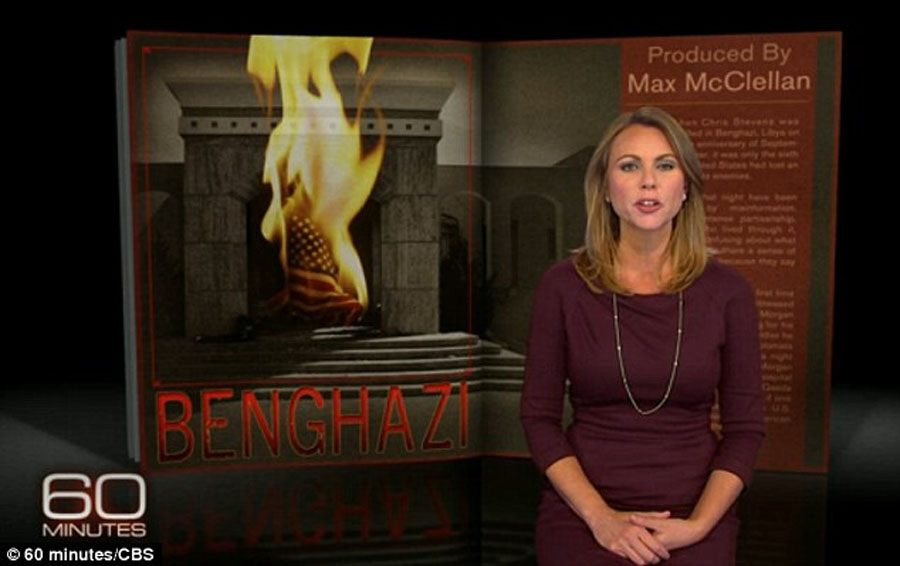 Lara Logan and her producer 'suspended' over false 60 Minutes report on Benghazi after she was forced to make humiliating on-air apology for 'disappointing mistakes' 48378