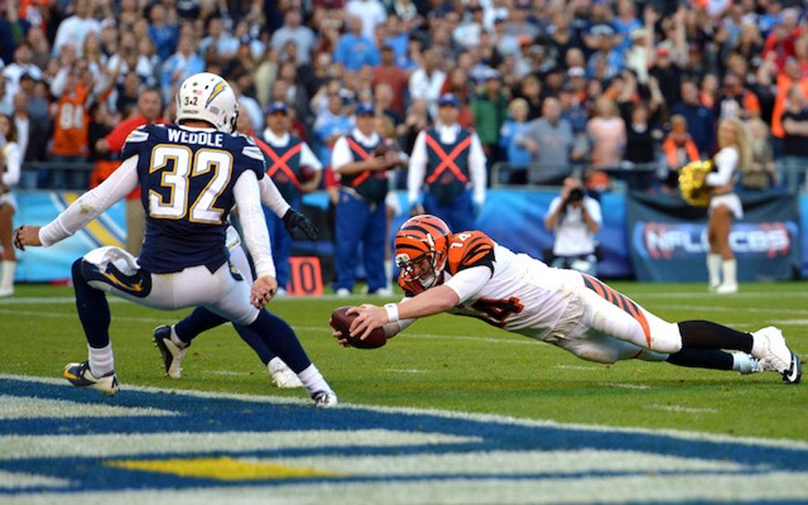 Bengals at Chargers will be first blackout of NFL season 48457